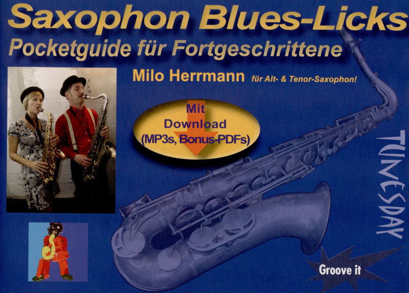 Tunesday Records Saxophone Blues-Licks
