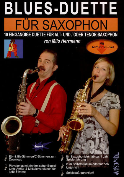 Tunesday Records Blues-Duette for Saxophone