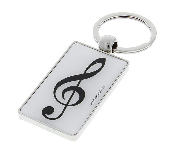 A-Gift-Republic Key Ring G-Clef