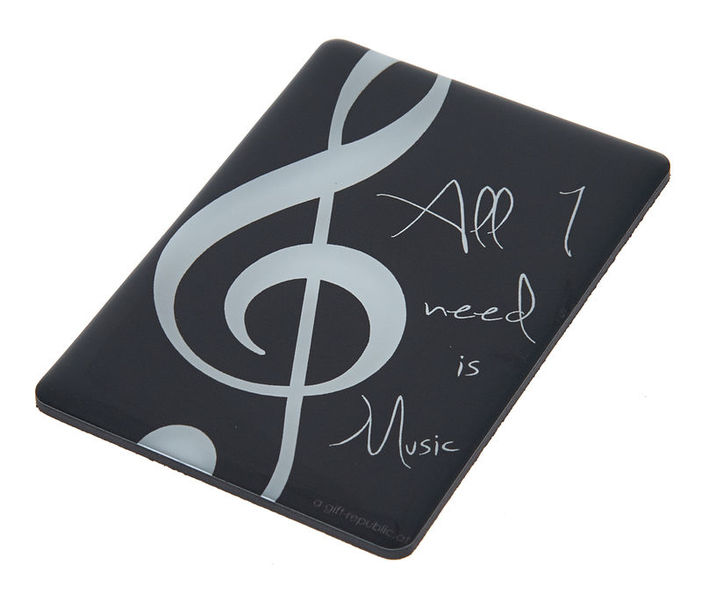 A-Gift-Republic Magnet All I Need Is Music