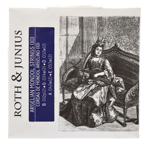 Roth & Junius Algerian Mondol Strings 10-Str