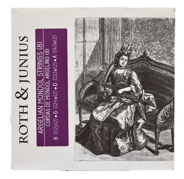 Roth & Junius Algerian Mondol Strings 8-Str