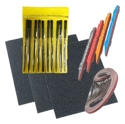 Theo Wanne Files and sanding Tools