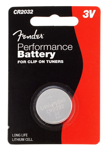 Fender CR2032 Button Single EUBattery