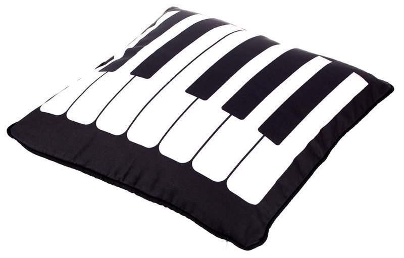 A-Gift-Republic Pillow with Keyboard Black
