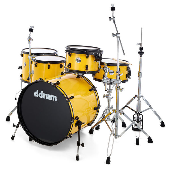 DDrum JR22 Journeyman Rambler Yellow