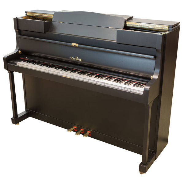 Schimmel Piano, used, black
