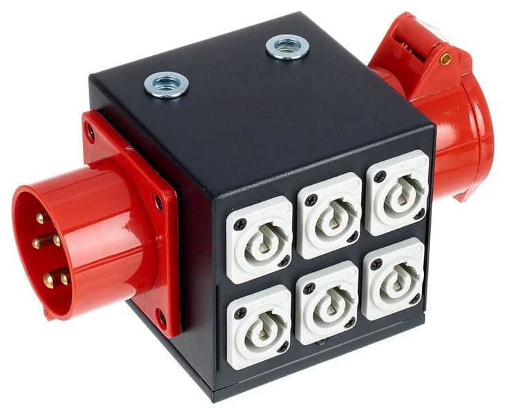 PCS 6 Power Twist Distributor Varytec