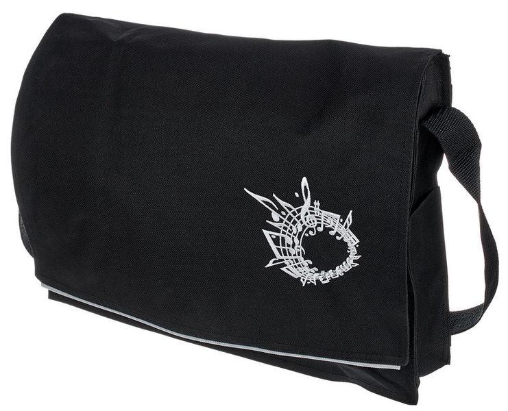 Music Sales Black Music Messenger Bag