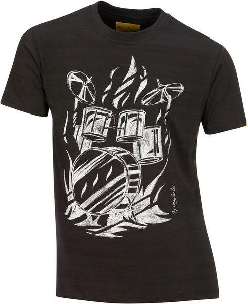 Xam Schrock T-Shirt Drumhead XL