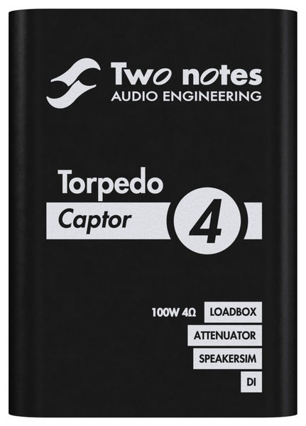 Torpedo Captor 4 Ohms Two Notes
