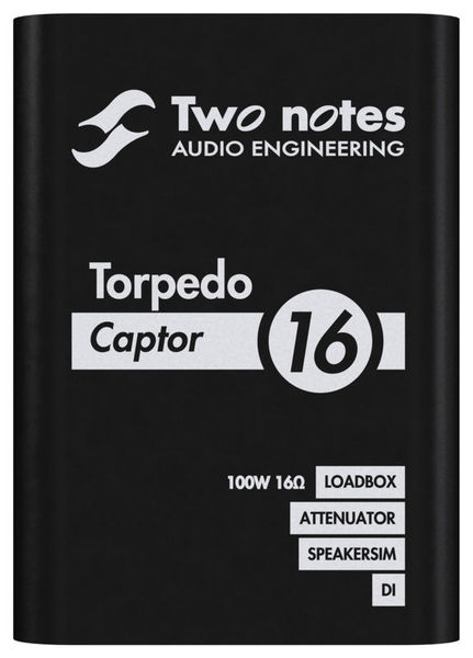 Two Notes Torpedo Captor 16 Ohms