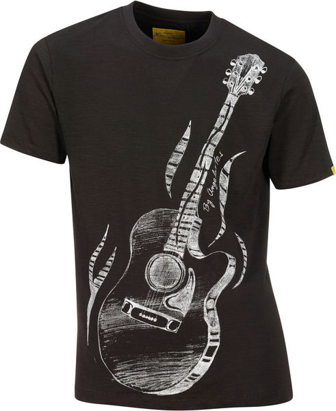 Xam Schrock T-Shirt Acoustic Hero L