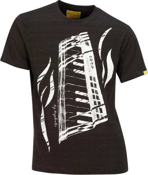 Xam Schrock T-Shirt Piano Feeling L