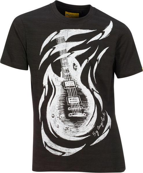 Xam Schrock T-Shirt E-Guitar L