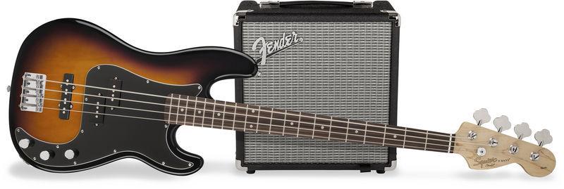 Fender SQ Affinity PJ Bass Pack BSB