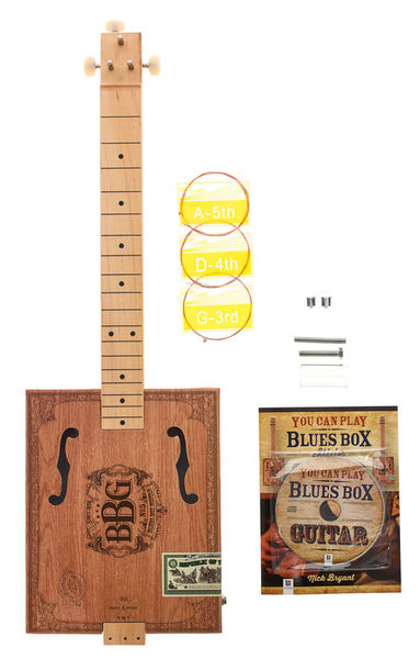 Hinkler Books The Blues Box Guitar Kit
