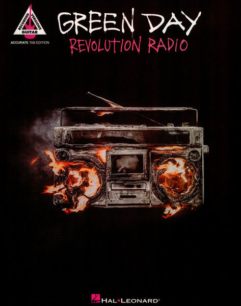 Hal Leonard Green Day Revolution Radio