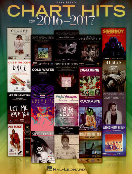 Hal Leonard Chart Hits 2016-2017 Easy P.
