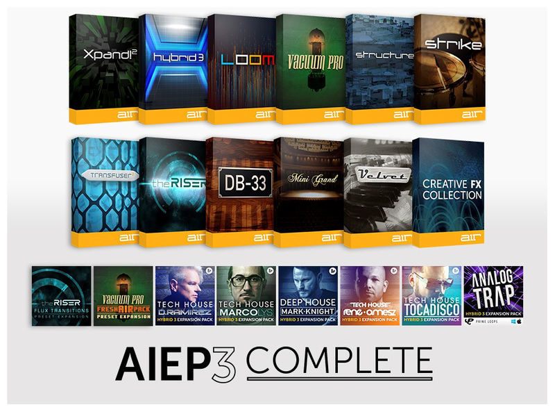AIR Music Technology AIEP3 Complete Upgrade