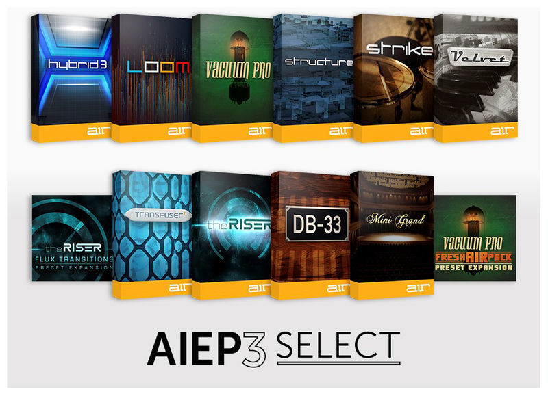 AIR Music Technology AIEP3 Select Upgrade