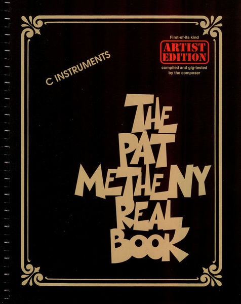 The Pat Metheny Real Book C Hal Leonard
