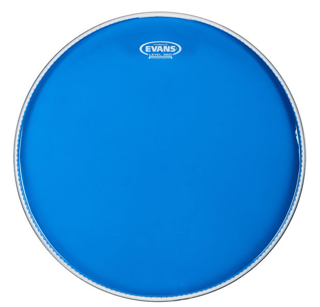 "Evans 20"" Hydraulic Blue Bass Drum"
