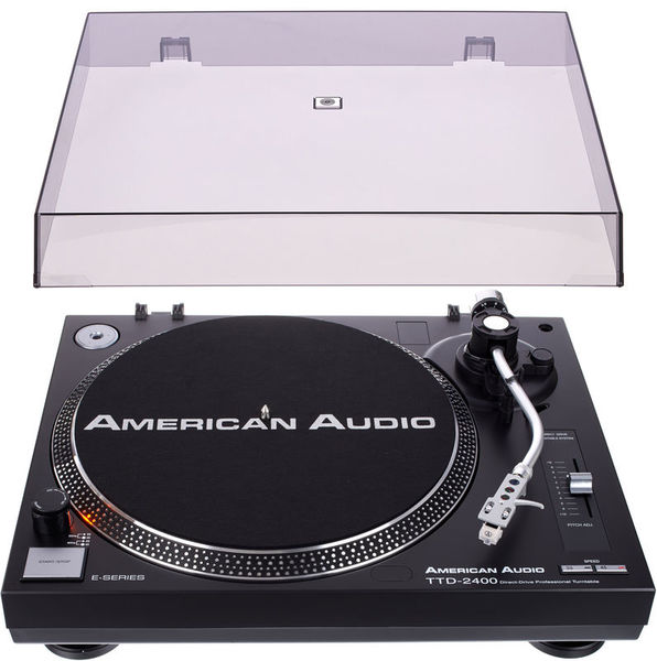American Audio TTD 2400 Cover Bundle