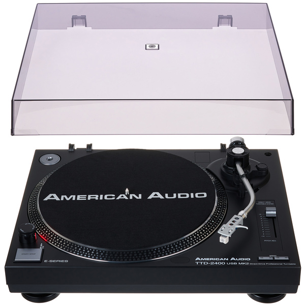 American Audio TTD 2400 USB Cover Bundle