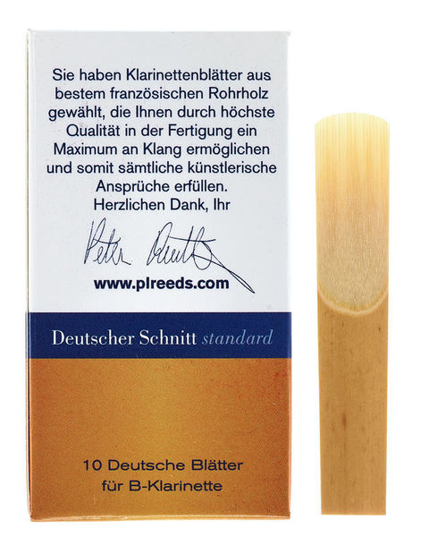 Peter Leuthner German Bb-Clarinet 1,5 Stand