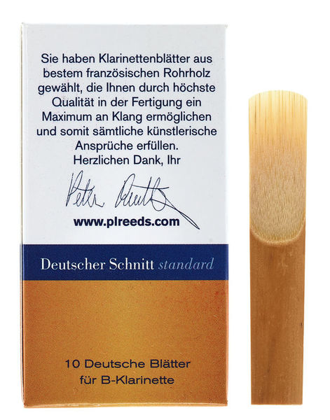 Peter Leuthner German Bb-Clarinet 4,0 Stand