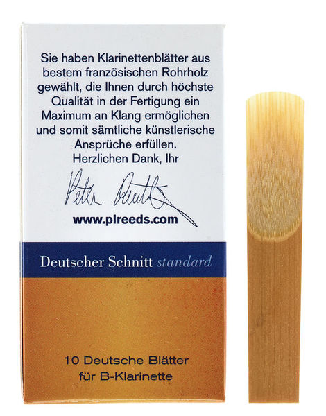 Peter Leuthner German Bb-Clarinet 4,5 Stand