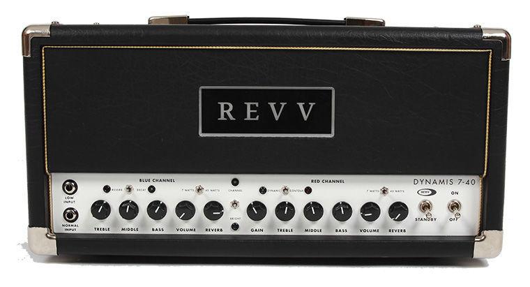 Revv Dynamis 7-40w Head BK