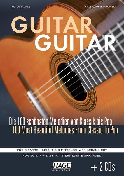 Guitar Guitar +CD Hage Musikverlag