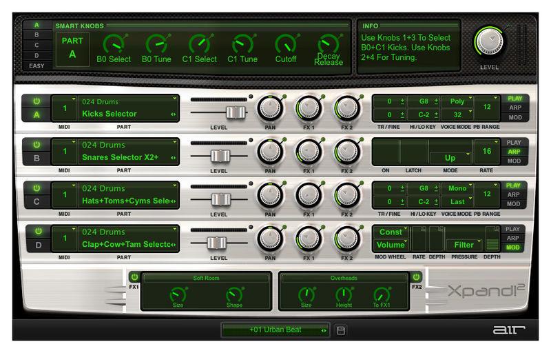 Xpand!2 AIR Music Technology