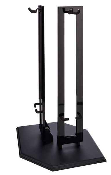 Fender Double Wood Hanging Stand BLK