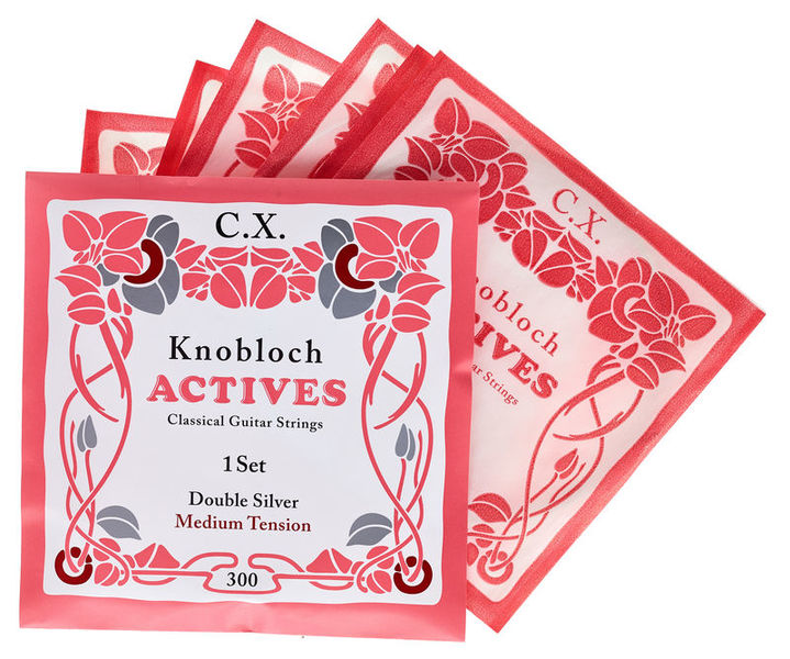 Knobloch Strings Double Silver Carbon CX 300KAC