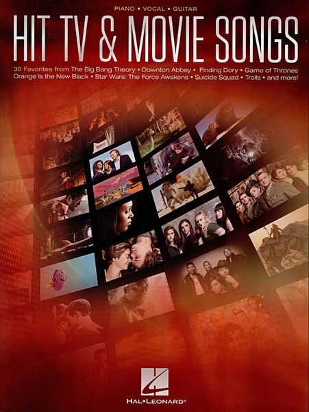 Hal Leonard Hit TV & Movie Songs