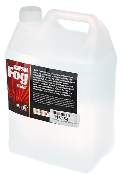 Martin Rush & Thrill Fog Fluid 5l