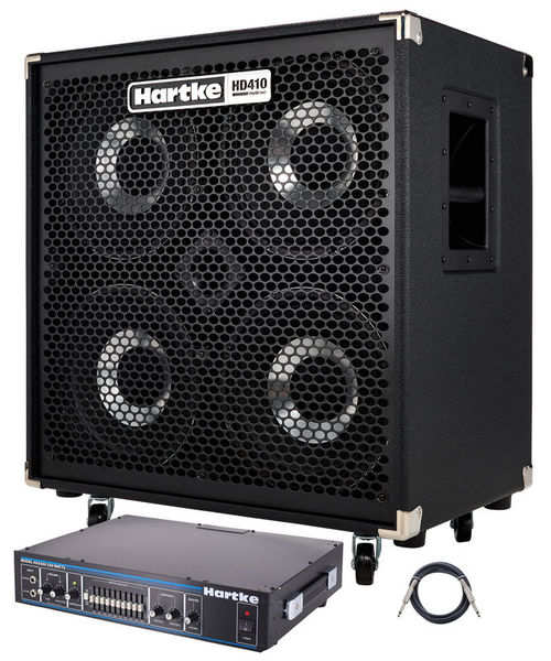 Hartke HA 3500 Bass Top Bundle