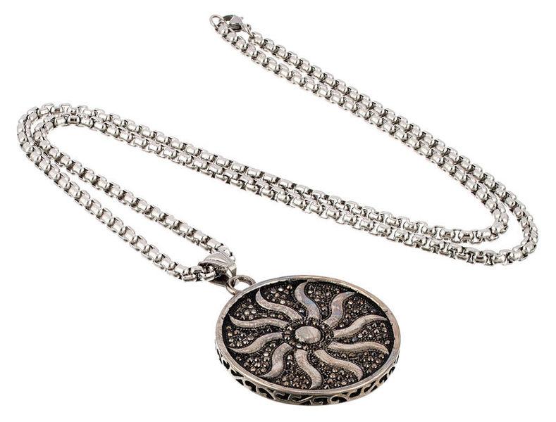 Rockys Necklace Pendant Sun Wheel