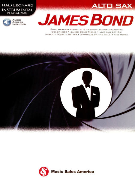 Hal Leonard Play James Bond A-Sax