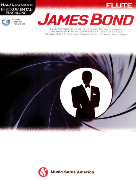 Hal Leonard Play James Bond Flute