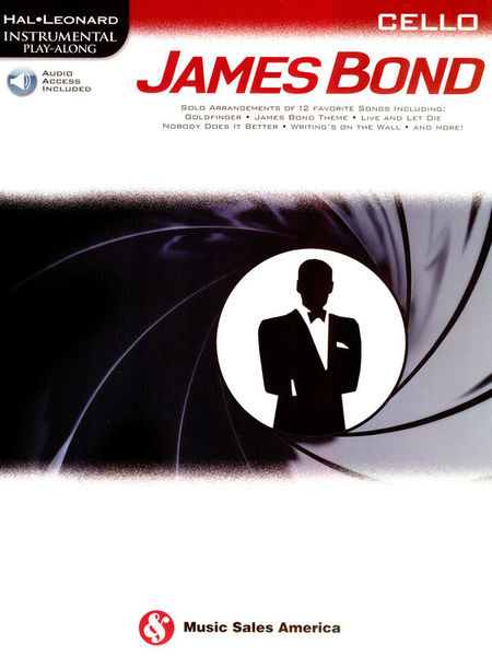 Hal Leonard Play James Bond Cello