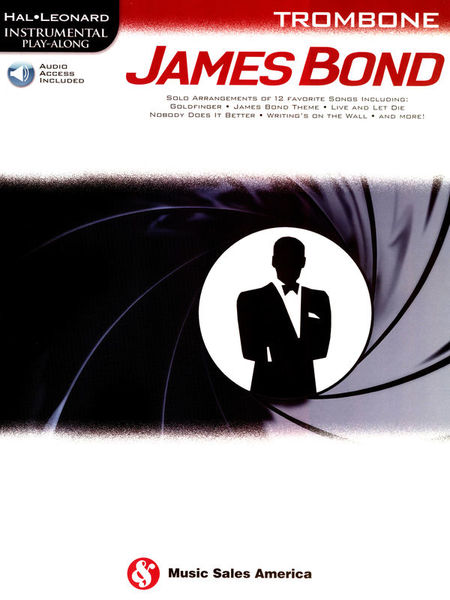 Hal Leonard Play James Bond Trombone
