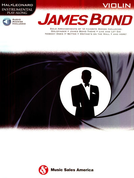 Hal Leonard Play James Bond Violin