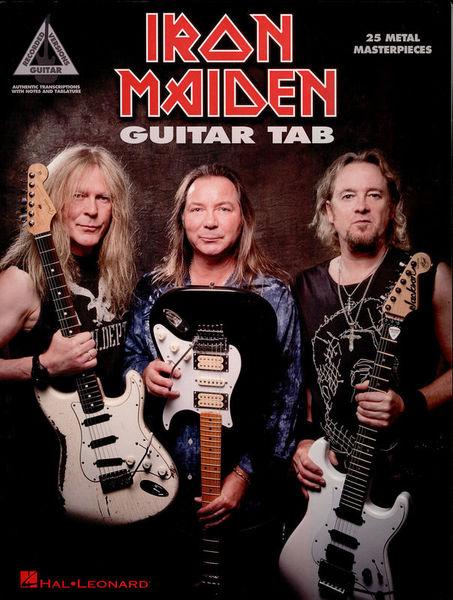 Iron Maiden 25 Metal Master Hal Leonard