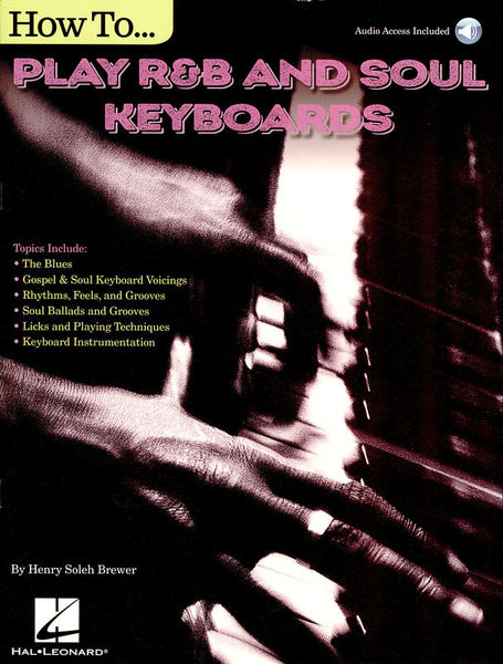 Hal Leonard How To Play R&B Soul Keyboards
