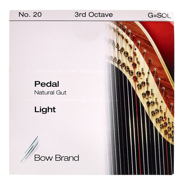 Bow Brand Pedal Nat. Gut 3rd G No.20 L