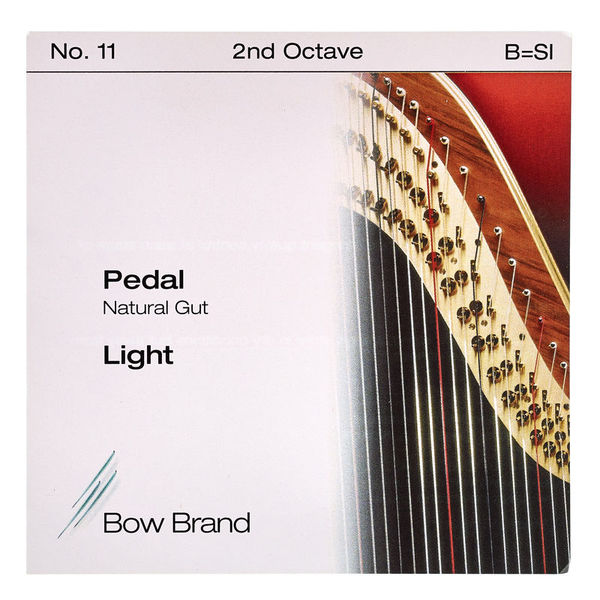 Bow Brand Pedal Nat. Gut 2nd B No.11 L